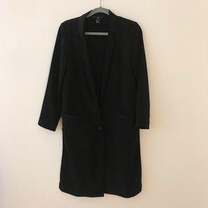 Black Blazer Coat